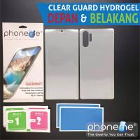 Oppo A74 - PhoneMe Hydrogel Depan Belakang Clear Matte - Clear