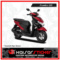 Decal Sticker Motor Full Body Stiker Yamaha FreeGo 125 Stip