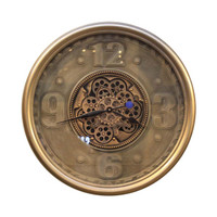 INFORMA - JAM DINDING - WALL CLOCK GEAR 034 DIA 70CM GREY