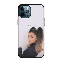 Casing iPhone 12 Pro Max Ariana Grande Thank u Next P2688