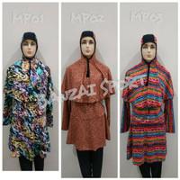 TERBAIK Baju Renang Muslim Kerudung Panjang KIU