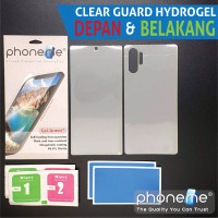 Xiaomi Mi 11 Ultra - PhoneMe Hydrogel Depan Belakang Clear Matte - Clear
