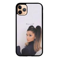 Case Custom iPhone 11 Pro Max Ariana Grande Thank u Next P2688