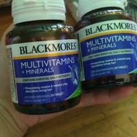 Balckmores multivitamin dan mineral 30tab Diskon