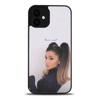 Case Casing iPhone 12 Ariana Grande Thank u Next P2688