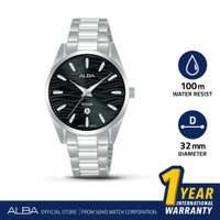 Jam Tangan Wanita Alba Fashion Quartz Stainless Steel AH7X73 Original