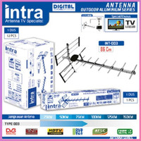 Baru Antena Digital Outdoor TV LCD LED Intra 003 Free Kabel Anten