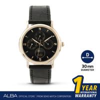 Jam Tangan Pria Alba Quartz Leather ASFB14 Original