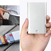 Dompet Kartu auto slider Xiaomi MIIIW Premium Card Case Aluminium