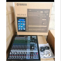 TERBUKTI Mixer yamaha mgp 16x mgp16x mgp 16 x 16ch 16 channel GRADE A