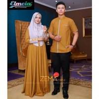 Baju Gamis Syari Cauple Dewasa Jubah Wanita Muslim Muslimah Dres