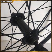 WheelSet Araya 26 Inch V Brake - Hitam silver Clive