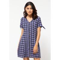 Colorbox Rayon Mini Dress I:DIWKEY121E035 Lilac