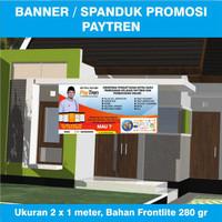 Ukuran Agen Loket Banner x 2 TERBARU Paytren Resmi meter - 1
