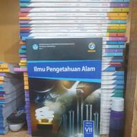 N kurikulum semester kelas 2013 paket smp 7 ipa 1 Buku