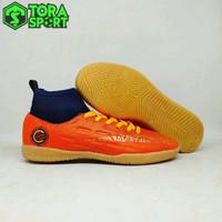 Sepatu Futsal Anak Nike Mercurial CR7 Boot Orange Size 34 35 36 37 38