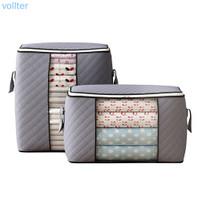VOLL Quilt Storage Bag Visible Clothing Organizer Moisture-proof