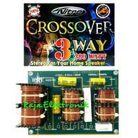Kit Crossover Pasif 3 Way Stereo BME NITRO 203 380Watt Rakitan