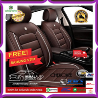 Sarung Jok Kulit Mobil Grand Livina Bahan Original Syntetic Murah
