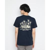 Kaos Pria Erigo T-Shirt Sun Village Cotton Combed Navy