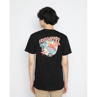 Kaos Pria Erigo T-Shirt Erigo Skate Day Cotton Combed Black - M