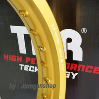VELG W-Shape 185 & 215 ring 17 TDR Gold MaTTe Rim Pelek Motor