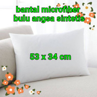 balita bulu Bantal angsa microfiber anak tidur sintetis empuk