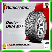 Ban Mobil Bridgestone Dueler D674 MT 235/75 R15 15 0WT 110Q 8PR