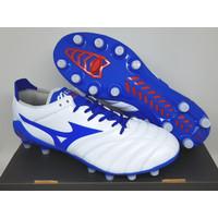 Sepatu Bola Soccer Mizuno Morelia Neo 3 Leather White Blue FG