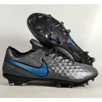 Sepatu Bola Nike Tiempo Legend 8 Black Blue FG