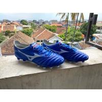 Sepatu Bola Mizuno Morelia Neo III Blue white FG