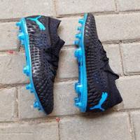 Sepatu Bola Puma Future netfit 5.1 Black Blue FG