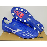 Sepatu Bola Soccer Mizuno Morelia Neo 3 BETA Reflex Blue White FG