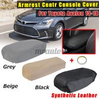 Cover Armrest Tengah Bahan Kulit Sintetis Untuk Toyota Avalon 2013-201