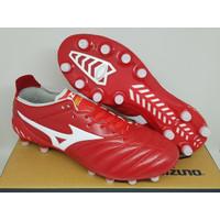 Sepatu Bola Soccer Mizuno Morelia Neo 3 Leather Red White FG