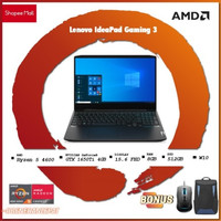 Lenovo Gaming 3 N1ID - AMD Ryzen 5 4600 8GB 512ssd GTX1650Ti 4GB