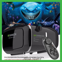[AS] Kacamata 3D Virtual Reality VR Google Cardboard Gamepad Bluetooth