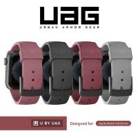 Uag Strap Silikon Nyaman 42mm 44mm Untuk Apple Watch Seri 6 Se 5 4 3