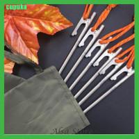 [AS] Pasak Tenda Bahan Titanium Kuat Panjang 20cm Untuk Outdoor