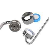 Disc Diffuser CO2 Bahan Keramik Stainless Steel, Dapat Diganti