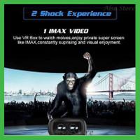 VR Box Virtual Reality Versi 2.0 Kacamata 3D dengan Cardboard Google u