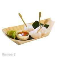 Dipoable Food Tray Baket Boat Paper Cardboard for erving Food 3 ize