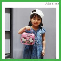 [AS] Tas Handbag Bahu Model Hello Kitty untuk Anak Perempuan