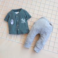 Anak - 01 2 5 Baseball NY Baju Motif Bayi tahun Setelan bulan 6 Laki-l