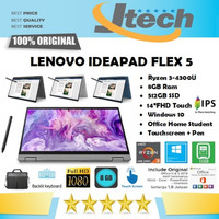LENOVO IDEAPAD FLEX 5 - RYZEN 3-4300U - 8GB - 512GB - 14FHD IPS