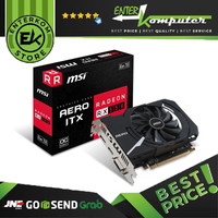 Dijual MSI Radeon RX 550 2GB DDR5 - AERO ITX 2G OC Limited