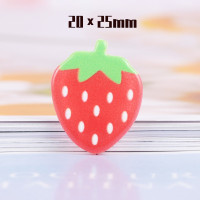 10Pcs/Pack Fruit Slices Candy Toy Resin Flatback Cabochon Earring