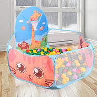 Foldable Kids Ocean Balls Pit Pool Baby Playground with Ball