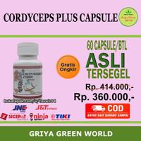 Dijual Green World Cordyceps Plus Capsule Murah