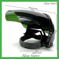 [AS] Helm Pelindung Wajah ARC dengan Kaca Gelap Pelindung S